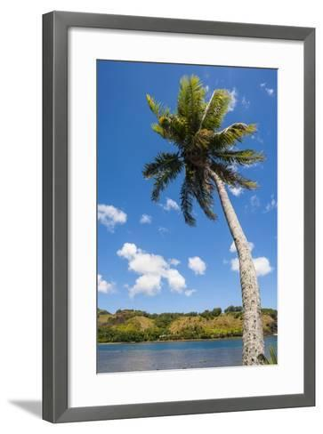 Umatac Bay, Guam, Us Territory, Central Pacific-Michael Runkel-Framed Art Print