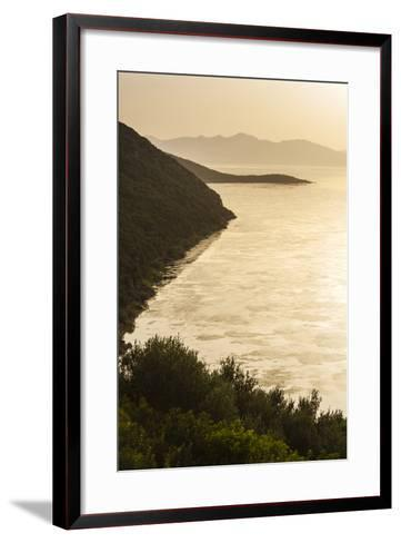 Lake Ichkeul, National Park of Ichkeul, Bizerte Province, Tunisia, North Africa-Nico Tondini-Framed Art Print