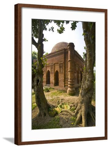 Old Mosque in Soneragon, Bangladesh, Asia-Michael Runkel-Framed Art Print