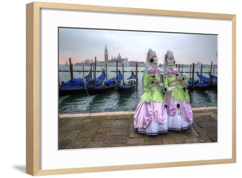 Venice at Carnival Time, Italy-Darrell Gulin-Framed Art Print