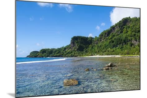 Bay and Turquoise Water in Tau Island, Manu'A, American Samoa, South Pacific-Michael Runkel-Mounted Photographic Print