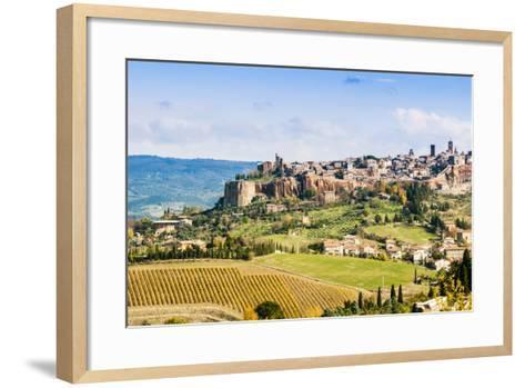 View of Orvieto, Umbria, Italy-Nico Tondini-Framed Art Print