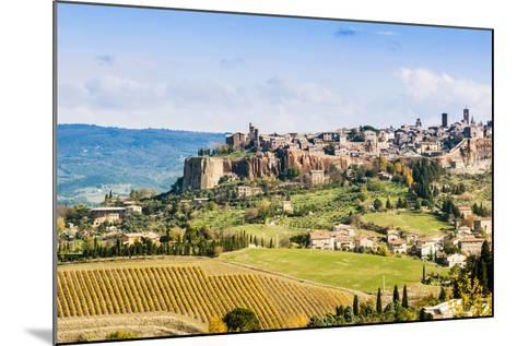 View of Orvieto, Umbria, Italy-Nico Tondini-Mounted Photographic Print