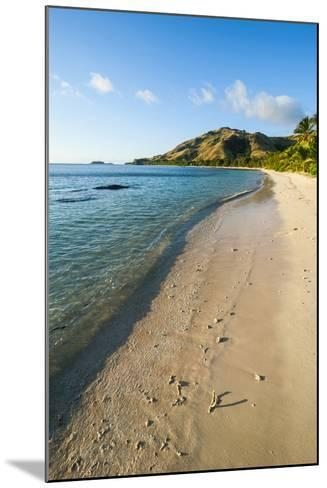 White Sandy Beach, Oarsman Bay, Yasawa, Fiji, South Pacific-Michael Runkel-Mounted Photographic Print