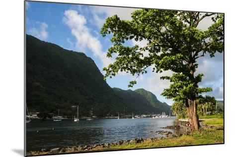 Pago Pago Bay, Tutuila Island, American Samoa, South Pacific-Michael Runkel-Mounted Photographic Print