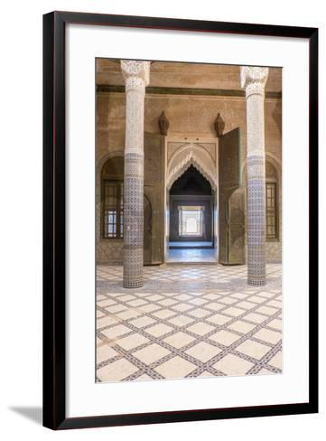Morocco, Agdz, the Kasbah of Telouet-Emily Wilson-Framed Art Print