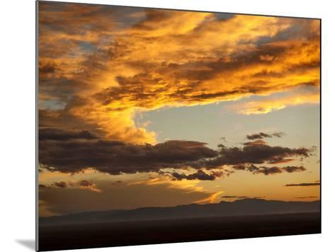 USA, Colorado, San Juan Mountains. Sunset across the San Luis Valley-Ann Collins-Mounted Photographic Print