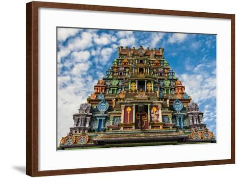 Sri Siva Subramaniya Hindu Temple, Nadi, Viti Leva, Fiji-Michael Runkel-Framed Art Print
