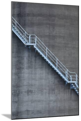 Stairs on Old Silo at Silo Park, Wynyard Quarter, Auckland, North Island, New Zealand-David Wall-Mounted Photographic Print