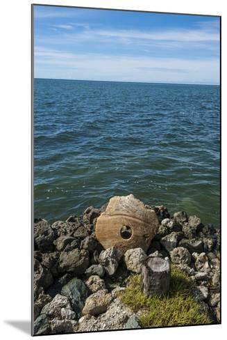 Stone Money on the Island of Yap, Micronesia-Michael Runkel-Mounted Photographic Print