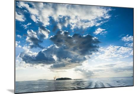 Dramatic Clouds at Sunset over the Mamanucas Islands, Fiji, South Pacific-Michael Runkel-Mounted Photographic Print