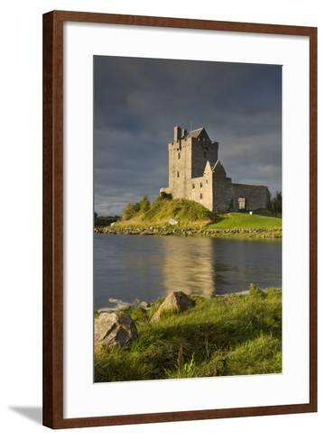 Dunguaire Castle Near Kinvara, County Galway, Republic of Ireland-Brian Jannsen-Framed Art Print