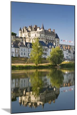 Early Morning Below Chateau D'Amboise, Amboise, Indre-Et-Loire, Centre, France-Brian Jannsen-Mounted Photographic Print