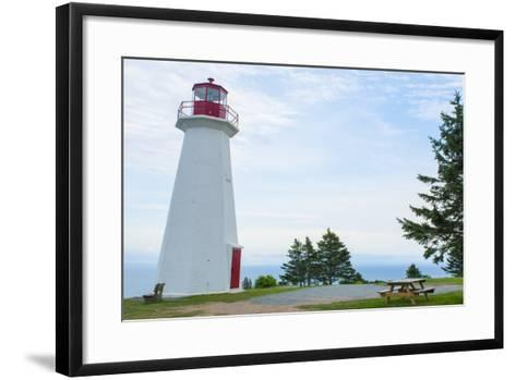 Canada, Cape George, Nova Scotia, Antigonish, Cape George Lighthouse-Bill Bachmann-Framed Art Print