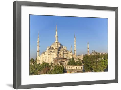 Turkey, Istanbul. the Sultan Ahmed Mosque Is a Historic Mosque in Istanbul-Emily Wilson-Framed Art Print