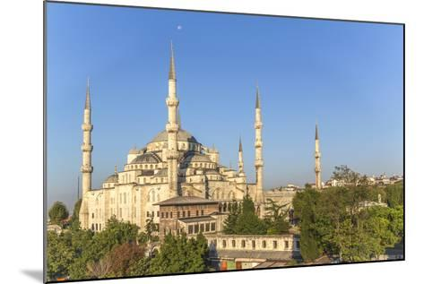 Turkey, Istanbul. the Sultan Ahmed Mosque Is a Historic Mosque in Istanbul-Emily Wilson-Mounted Photographic Print