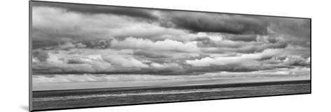 USA, California, San Diego, Panoramic Black-And-White View of Clouds over Pacific Ocean-Ann Collins-Mounted Photographic Print