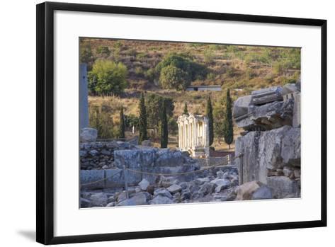 Turkey, Izmir, KUSAdasi. the Ruins of Ephesus-Emily Wilson-Framed Art Print