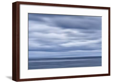 USA, California, San Diego, View of Blurred Clouds over Pacific Ocean-Ann Collins-Framed Art Print
