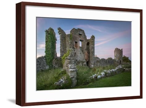 Ruins of Original Crom Castle, County Fermanagh, Northern Ireland, Uk-Brian Jannsen-Framed Art Print