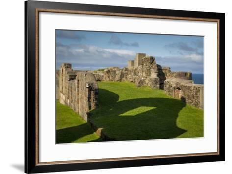 Ruins of Downhill Demesne Mansion Near Castlerock, County Londonderry, Northern Ireland, Uk-Brian Jannsen-Framed Art Print