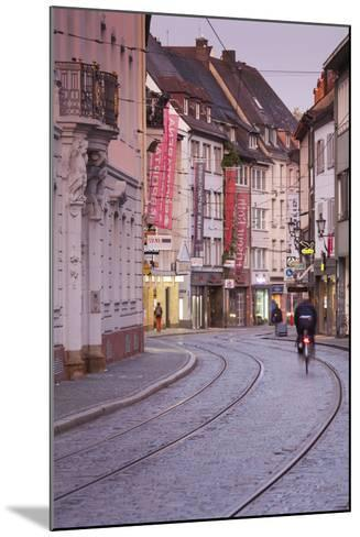 Baden-Wurttemburg, Black Forest, Old Town, Salzstrasse at Dawn-Walter Bibikow-Mounted Photographic Print