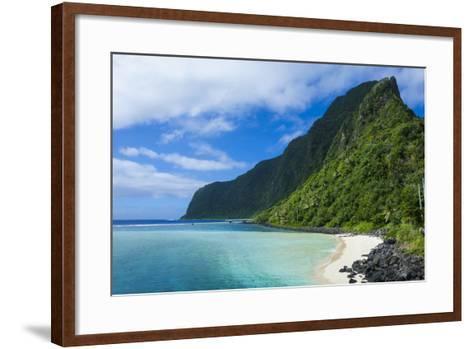 Manu'A Island Group, American Samoa, South Pacific-Michael Runkel-Framed Art Print