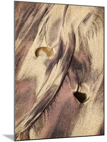 USA, California, Big Sur, Close-Up of Purple Sand at Pfeiffer Beach-Ann Collins-Mounted Photographic Print