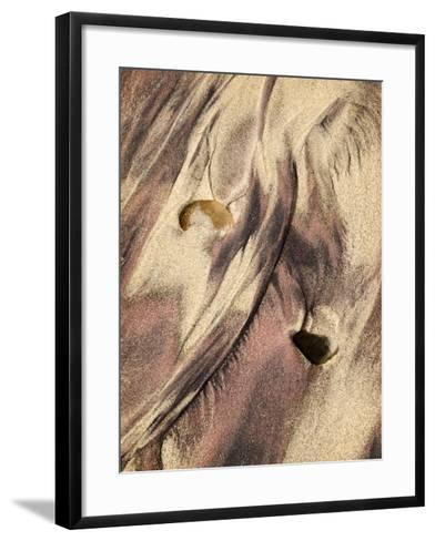 USA, California, Big Sur, Close-Up of Purple Sand at Pfeiffer Beach-Ann Collins-Framed Art Print