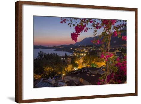 Turkey, Kas. Sunset over Kas-Emily Wilson-Framed Art Print