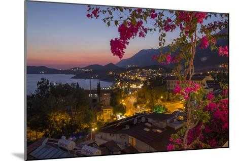 Turkey, Kas. Sunset over Kas-Emily Wilson-Mounted Photographic Print