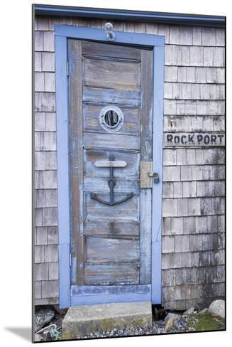 USA, Massachusetts, Cape Ann, Rockport, Fishing Shack-Walter Bibikow-Mounted Photographic Print