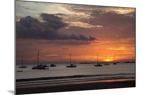 Central America, Nicaragua. Sunset at San Juan Del Sur Harbor-Kymri Wilt-Mounted Photographic Print