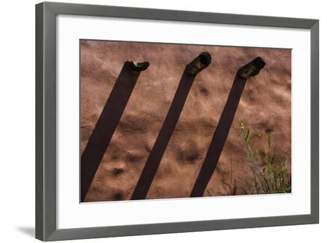 Historic Painted Desert Inn in Petrified Forest National Park, Az-Jerry Ginsberg-Framed Art Print