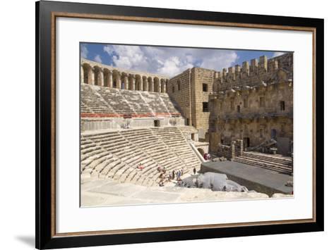 Turkey, Aspendos. Aspendos Theater in Anatolia-Emily Wilson-Framed Art Print