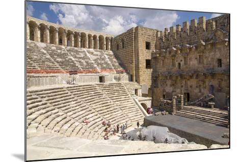 Turkey, Aspendos. Aspendos Theater in Anatolia-Emily Wilson-Mounted Photographic Print