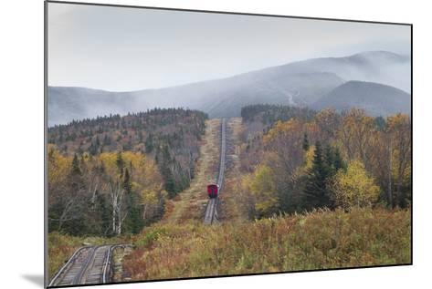 USA, New Hampshire, White Mountains, Bretton Woods, Mount Washington Cog Railway-Walter Bibikow-Mounted Photographic Print