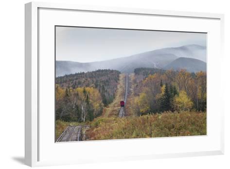 USA, New Hampshire, White Mountains, Bretton Woods, Mount Washington Cog Railway-Walter Bibikow-Framed Art Print