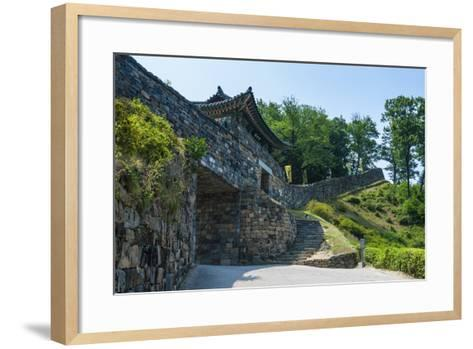 Gongsanseong Castle, Gongju, South Chungcheong Province, South Korea-Michael Runkel-Framed Art Print