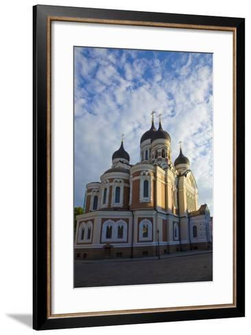 Estonia, Tallinn. View of Alexander Nevsky Cathedral-Jaynes Gallery-Framed Art Print