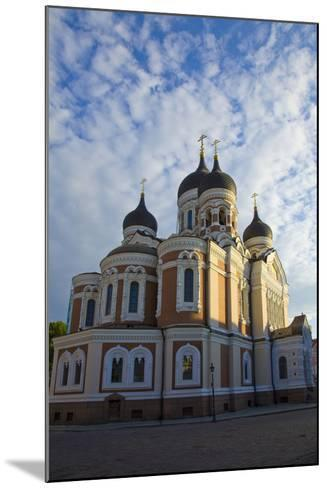 Estonia, Tallinn. View of Alexander Nevsky Cathedral-Jaynes Gallery-Mounted Photographic Print