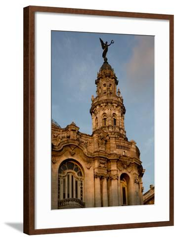 Cuba, Havana, Historic Building-John and Lisa Merrill-Framed Art Print