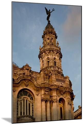Cuba, Havana, Historic Building-John and Lisa Merrill-Mounted Photographic Print