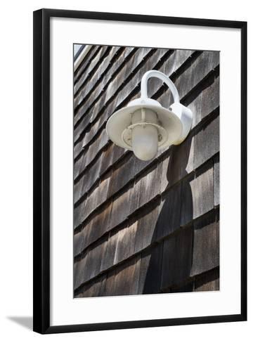 Exterior Wall Light, Fire Island, New York-Julien McRoberts-Framed Art Print