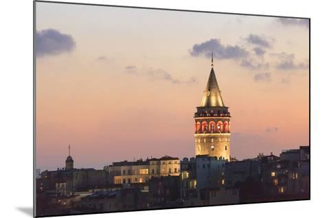 Galata Tower. Istanbul. Turkey-Tom Norring-Mounted Photographic Print