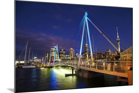 Auckland Waterfront, North Island, New Zealand-David Wall-Mounted Photographic Print