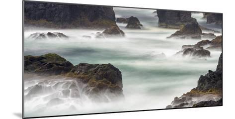 Famous Cliffs and Sea Stacks of Esha Ness, Shetland Islands-Martin Zwick-Mounted Photographic Print