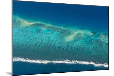 Aerial of Tonga, South Pacific-Michael Runkel-Mounted Photographic Print