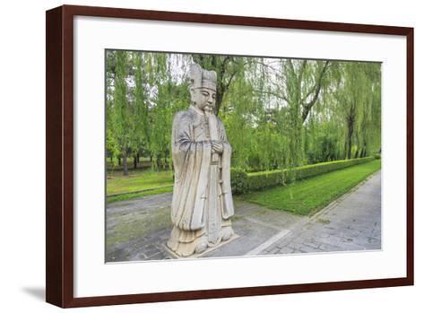 Ming Tombs, Near Beijing, China-Stuart Westmorland-Framed Art Print