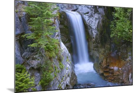 Washington, Mount Rainier National Park. Christine Falls Scenic-Jaynes Gallery-Mounted Photographic Print